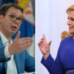 Vučić odgovorio Kolindi: Sramno je porediti Srbe i Hrvate u antifasističkoj borbi