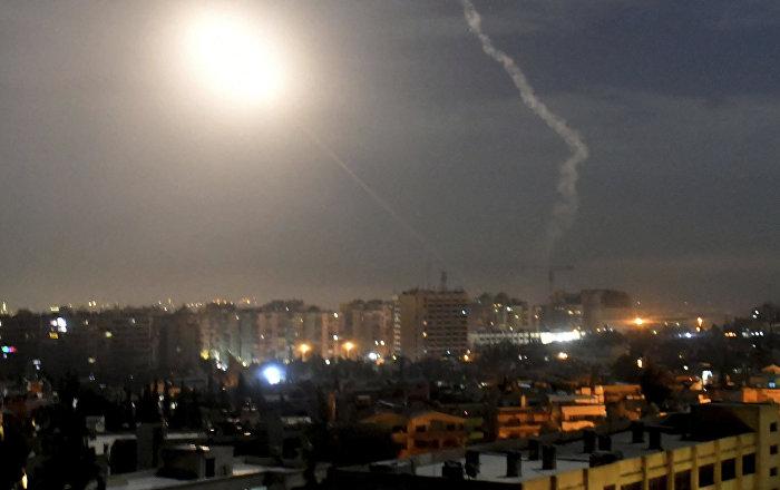 Iznad Damaska uništen dron