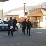 Privođenje jednog od osumnjičenih Damira Selimovića