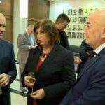 Potpredsjednik Vlade za regionalni razvoj Rafet Husović (BS), ministarka bez portfelja Marija Vučinović (HGI) i ministar saobraćaja i pomorstva Osman Nurković (BS)