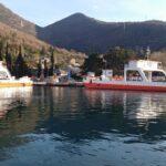 Trajekti u pristaništu Lepetane
