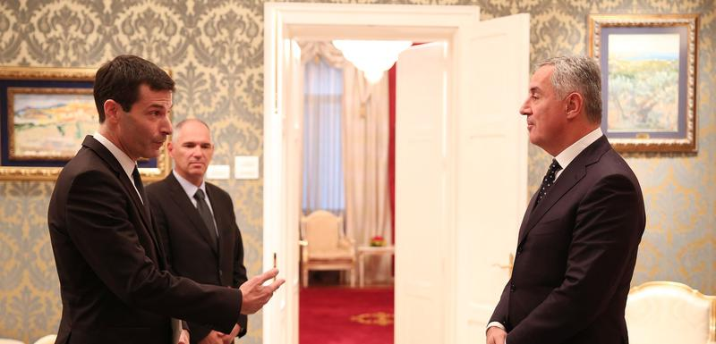 Đukanović sa novim ambasadorom Luskenburga