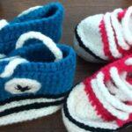 Zaštitni znak - pletene starke za bebe
