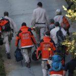Pripadnici odsjeka za pretragu i spašavanje okruga Kontra Kosta prilaze imanju u Orindi