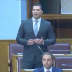 Janović danas  u Skupštini