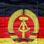 Zastava Istočne Njemačke (Ilustracija)