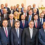Učesnici ministarske konferencija Salzburškog foruma u Beču