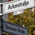 Ulica Bernauer smatra se simbolom njemačke podjele