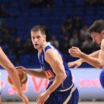 Nikola Ivanović i Hasan Martin na večerašnjoj utakmici