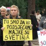 Sa protesta majki