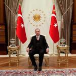 Erdogan na sastanku sa Kušnerom i Albajrakom u Ankari u februaru ove godine
