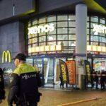 Holandska policija u ulici u kojoj je došlo do napada