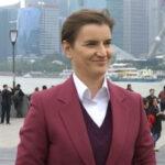 Brnabićeva za RTS: Očekujem više investicija posle posete Kini