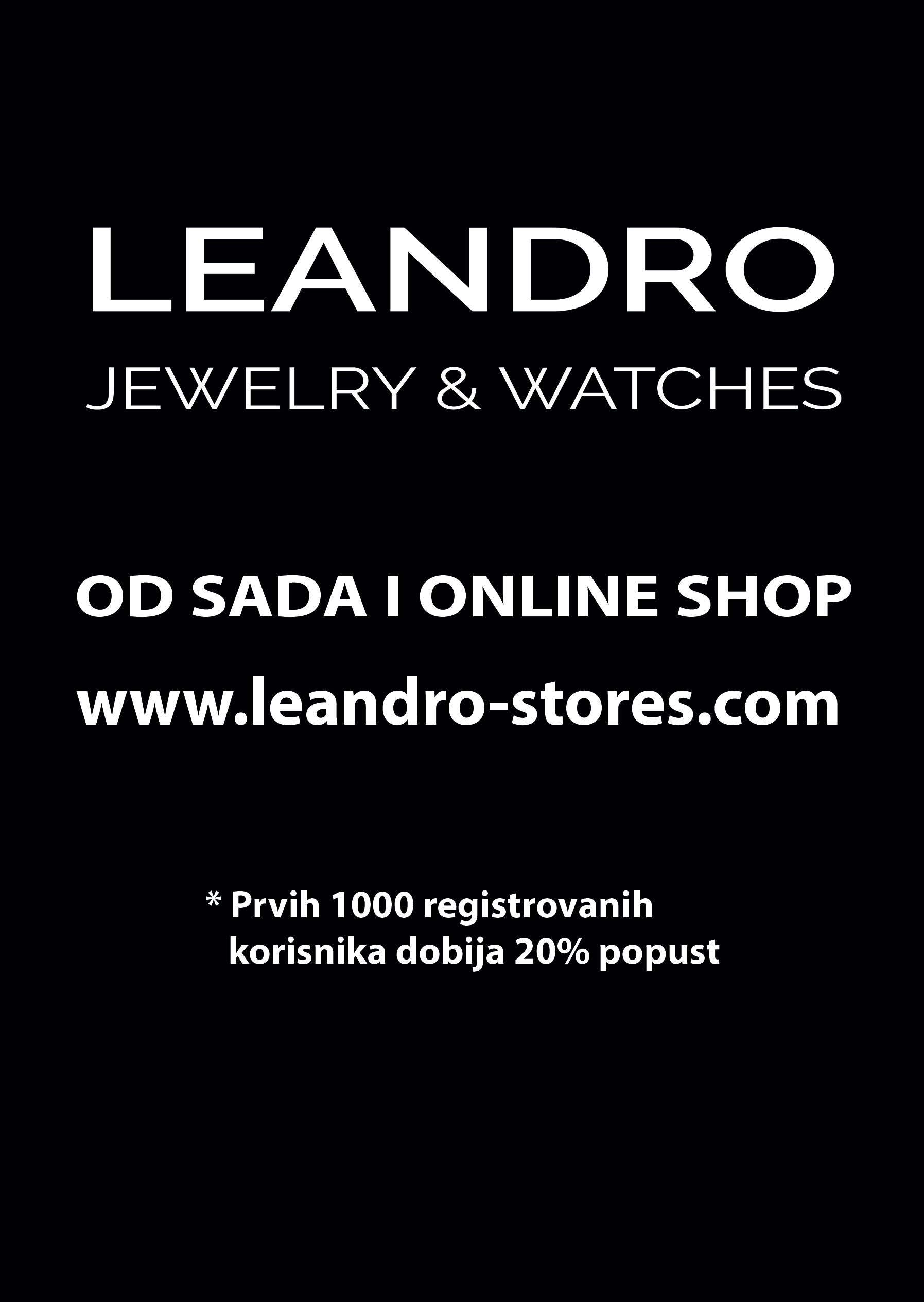 Leandro Jewelry & Watches online shop