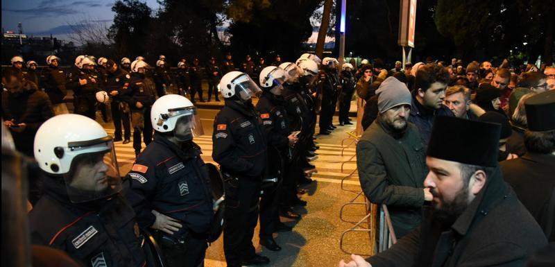 Čemerna atmosfera u Podgorici: Policija, građani i mrtva tišina