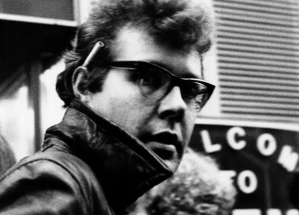 Džoni Grin u Londonu 1978.
