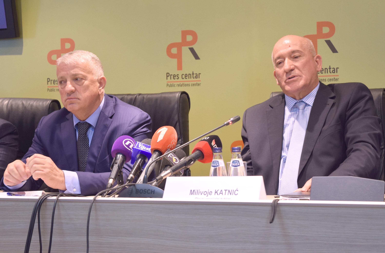 Zoran Lazović i Milivoje Katnić