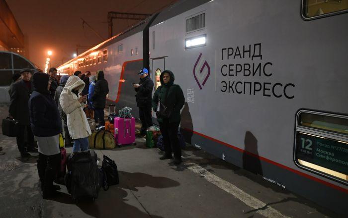 Prvi voz za Krim krenuo iz Moskve