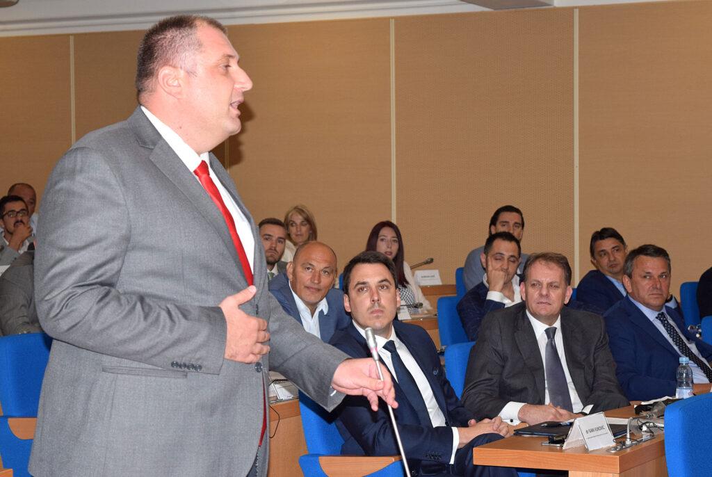 Vladimir Čađenović u SO Podgorica (arhiva)