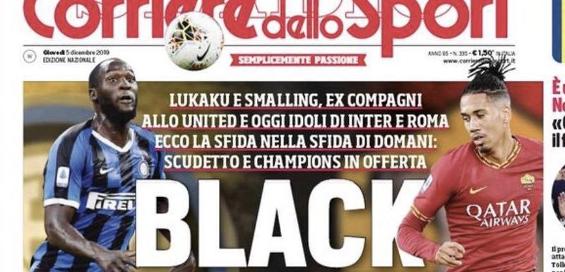 Naslovna strana Korijere delo sporta