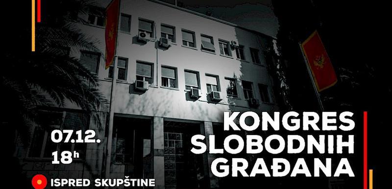 """Pokret """"Odupri se"""" organizovaće protest u subotu u 18 sati, ispred Skupštine Crne Gore"""