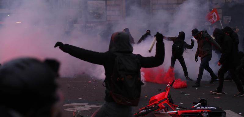 Protest u Parizu