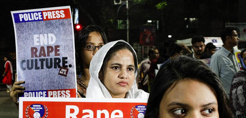 Sa jednog od protesta protiv silovanja u Indiji