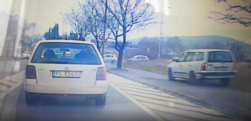 VIDEO Ovaj vozač ne prihvata podgoričku gužvu u saobraćaju