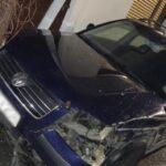 Jedno od vozila koje je kamionom oštetio Marković