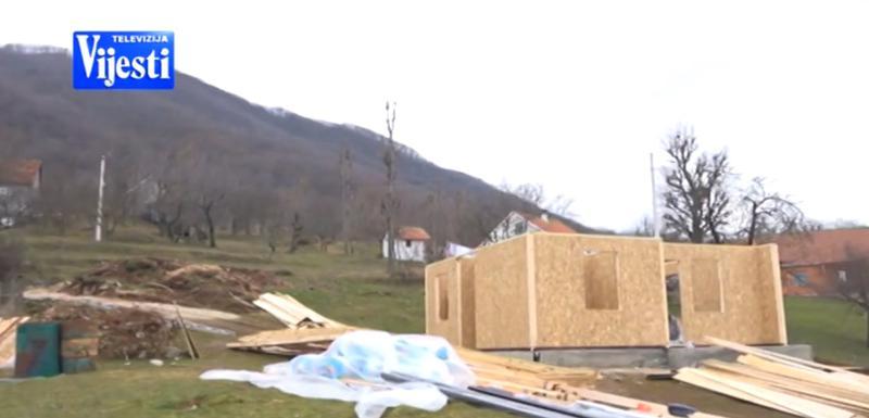 Gradnja nove kuće za porodicu Radulović