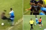Ludilo u Argentini: Brutalan start, pa opšta tuča na terenu