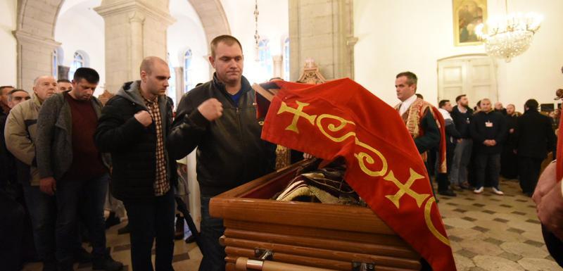 Jutros u Sabornom hramu Svetog Vasilija Ostroškog u Nikšiću