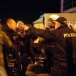 Sa večerašnjeg protesta u Nikšiću