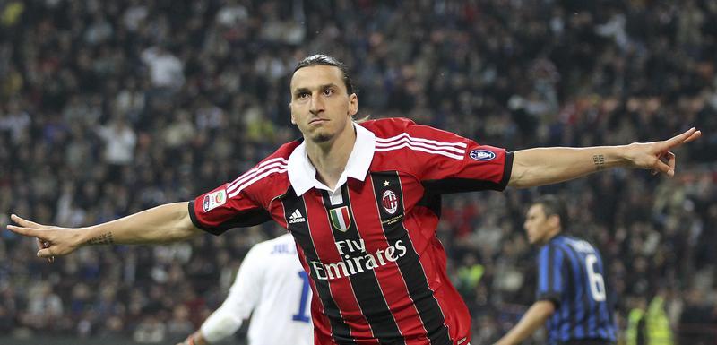 Zlatan Ibrahimović u dresu Milana