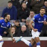 Kalvert-Luin je postigao dva gola za Everton