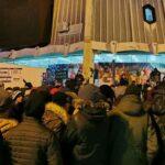Barani i večeras iskazali nezadovoljstvo zbog Zakona o slobodi vjeroispovijesti