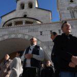 Sa protesta zbog usvajanja Zakona o slobodi vjeroispovijesti