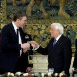 Grčki predsednik priredio večeru u čast Vučića