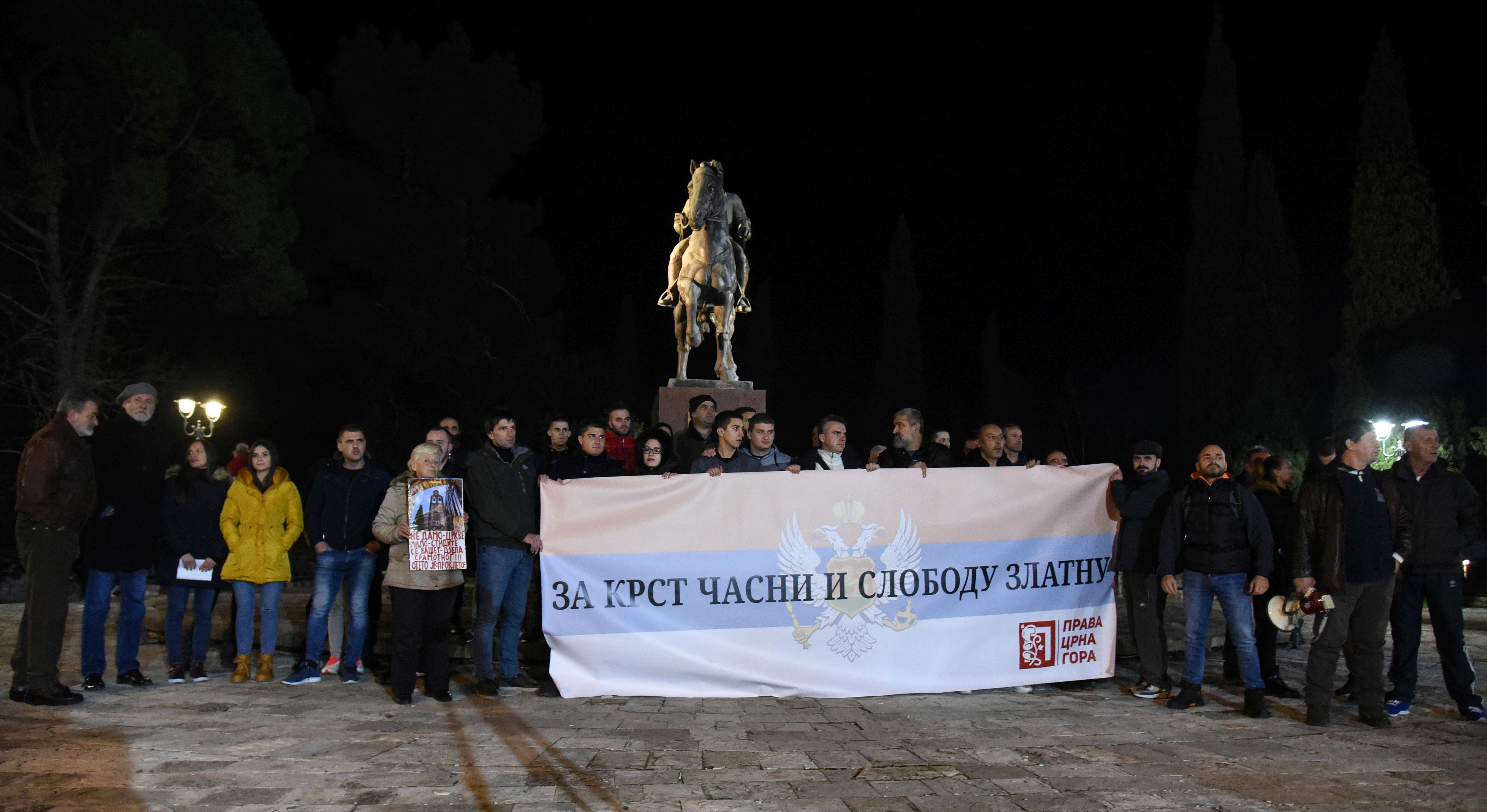 protest Prava Crna Gora