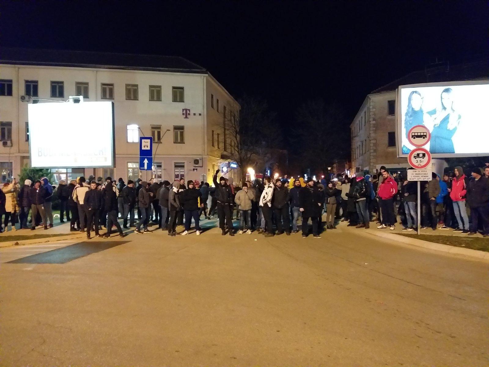 Nikšić protest