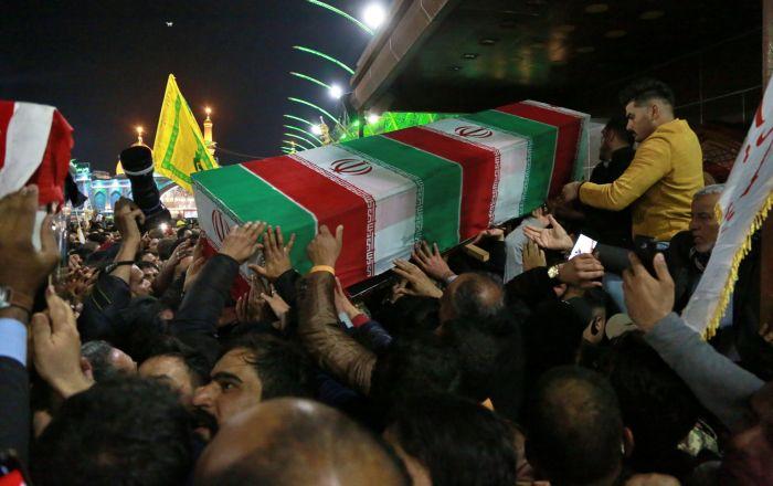 Trodnevna žalost u Iraku zbog smrti iranskog generala