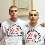 Raković sa vođama ekipe Omladinca - Boškovićem, Dulovićem i Hodžićem