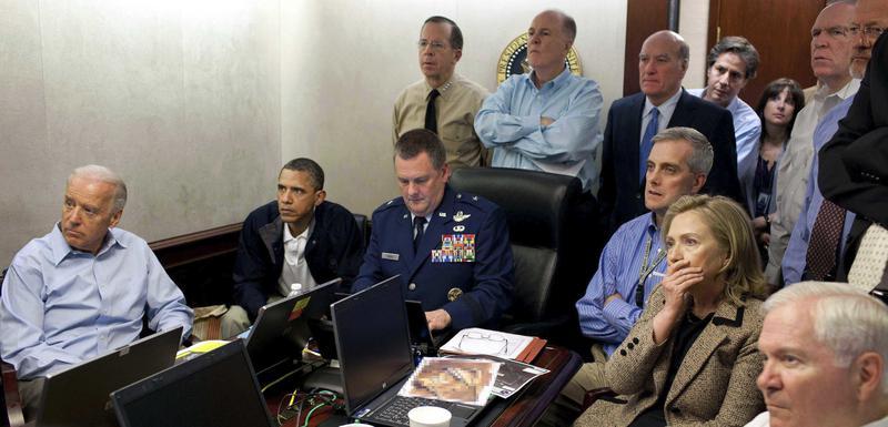 Momenat odluke: Članovi američke administracije tokom operacije protiv Osame bin Ladena 2011.