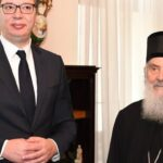Patrijarh SPC Irinej i predsednik Srbije Aleksandar Vučić