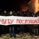 Poruka Vučiću Berane