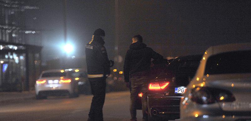 Pojačana kontrola policije u Podgorici (Ilustracija)