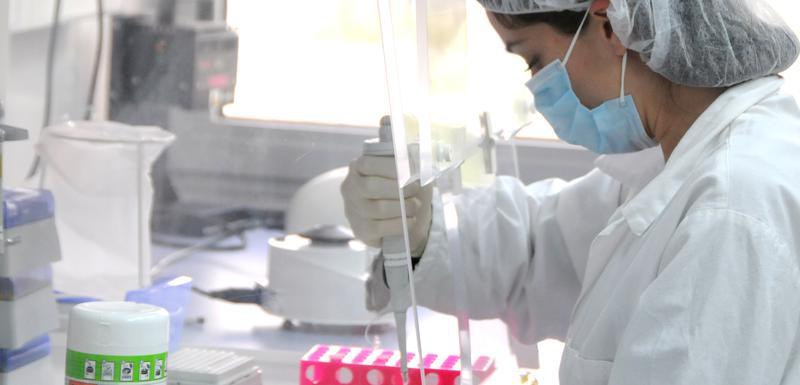 Detalj iz sektora za DNK analizu