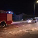Vatrogasci i policija na terenu