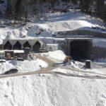 Ulaz u tunel ispod Bjelasice