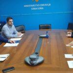 Ministar Hrapović na sastanku sa kineskim ambasadorom